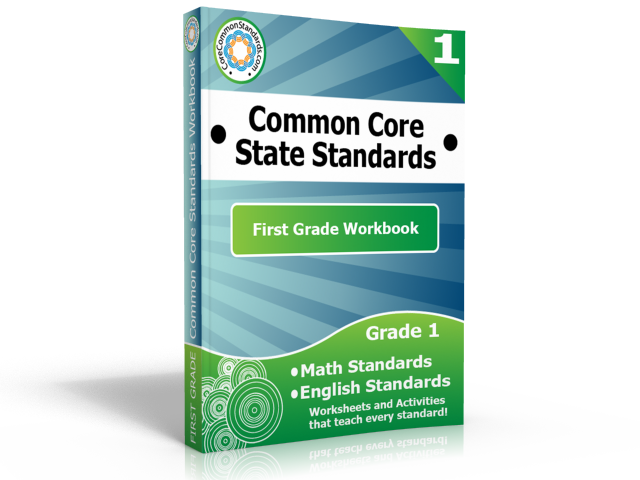 first grade common core standards workbook First Grade Common Core Activities