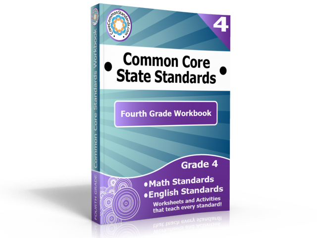 fourth grade common core standards workbook Free 4th Grade Common Core Workbook Giveaway