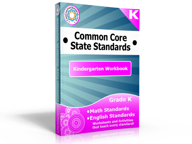 kindergarten common core standards workbook Kindergarten Common Core Workbook