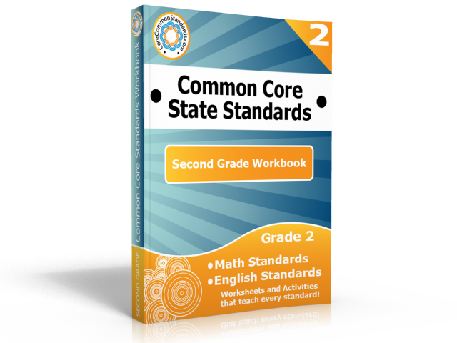 second grade common core standards workbook Second Grade Common Core Activities