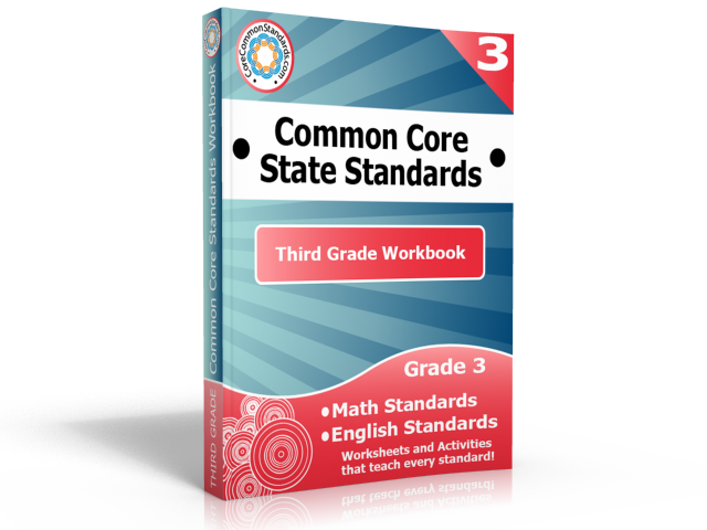 third grade common core standards workbook Third Grade Common Core Activities