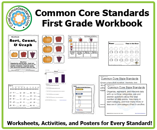 first grade common core activities 3 First Grade Common Core Workbook Download