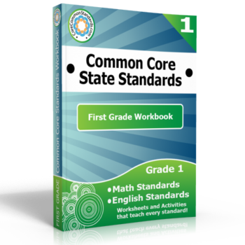 first grade common core workbook 350x350 Michigan Standards