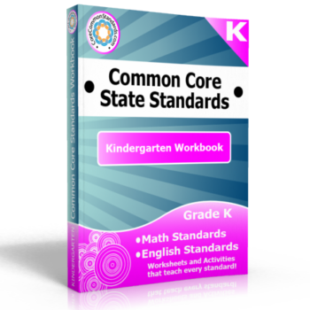 kindergarten common core standards workbook 350x350 Kindergarten Reading Informational Text Standards
