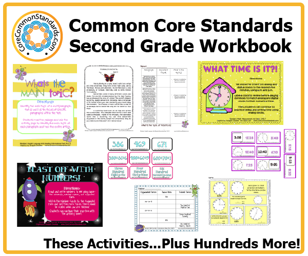 second grade common core activities 1 Second Grade Common Core Workbook Download