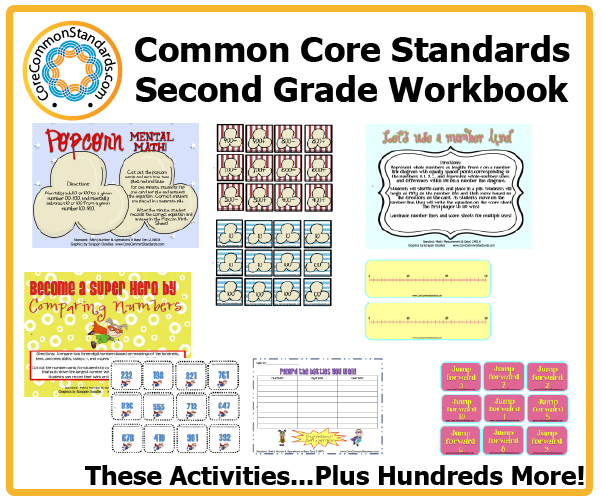 second grade common core activities 2 Second Grade Common Core Workbook Download