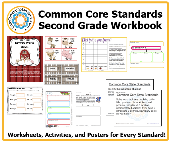 second grade common core activities 3 Second Grade Common Core Workbook Download