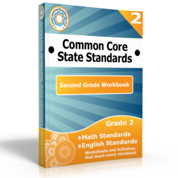 second grade common core workbook 350x350 Second Grade Measurement and Data Standards