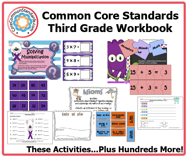 third grade common core activities 1 Third Grade Common Core Workbook Download
