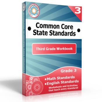 third grade common core workbook 350x350 Michigan Standards