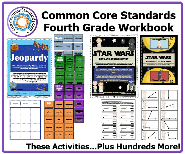 fourth grade common core activities 2 Fourth Grade Common Core Workbook Download