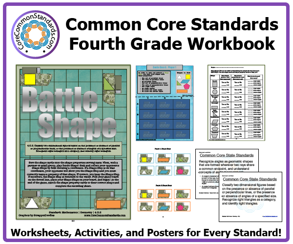 fourth grade common core activities 3 Fourth Grade Common Core Workbook Download
