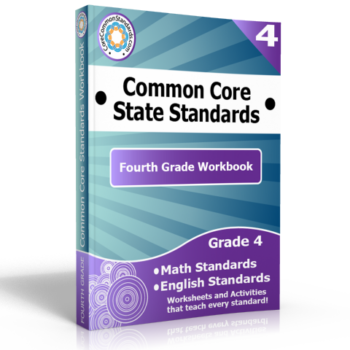 fourth grade common core standards workbook 350x350 Fourth Grade Number and Operations Fractions Standards