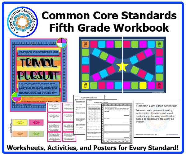 fifth grade common core activities 3 Fifth Grade Common Core Workbook Download