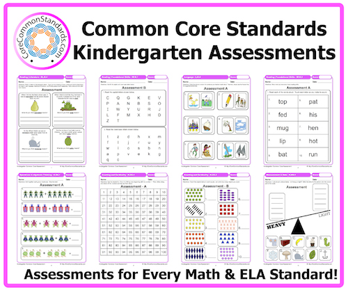 Revered image pertaining to kindergarten common core standards printable